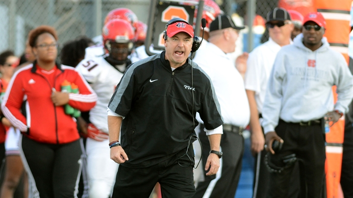 Former Cedar Hill coach Joey McGuire by Doug Holleman