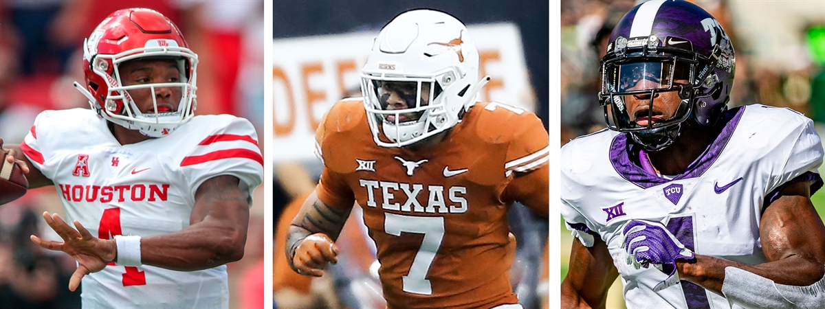 The 50 most important college players in Texas in 2019