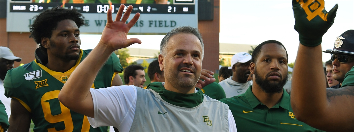 They Are The Standard How Baylor Coach Matt Rhule Won Over