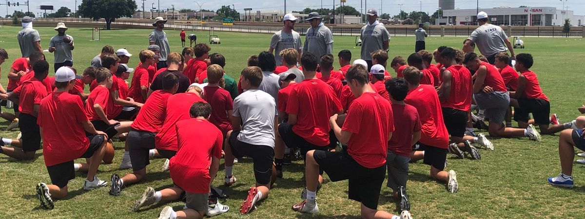 Quarterback Ranch draws players from all over Texas and