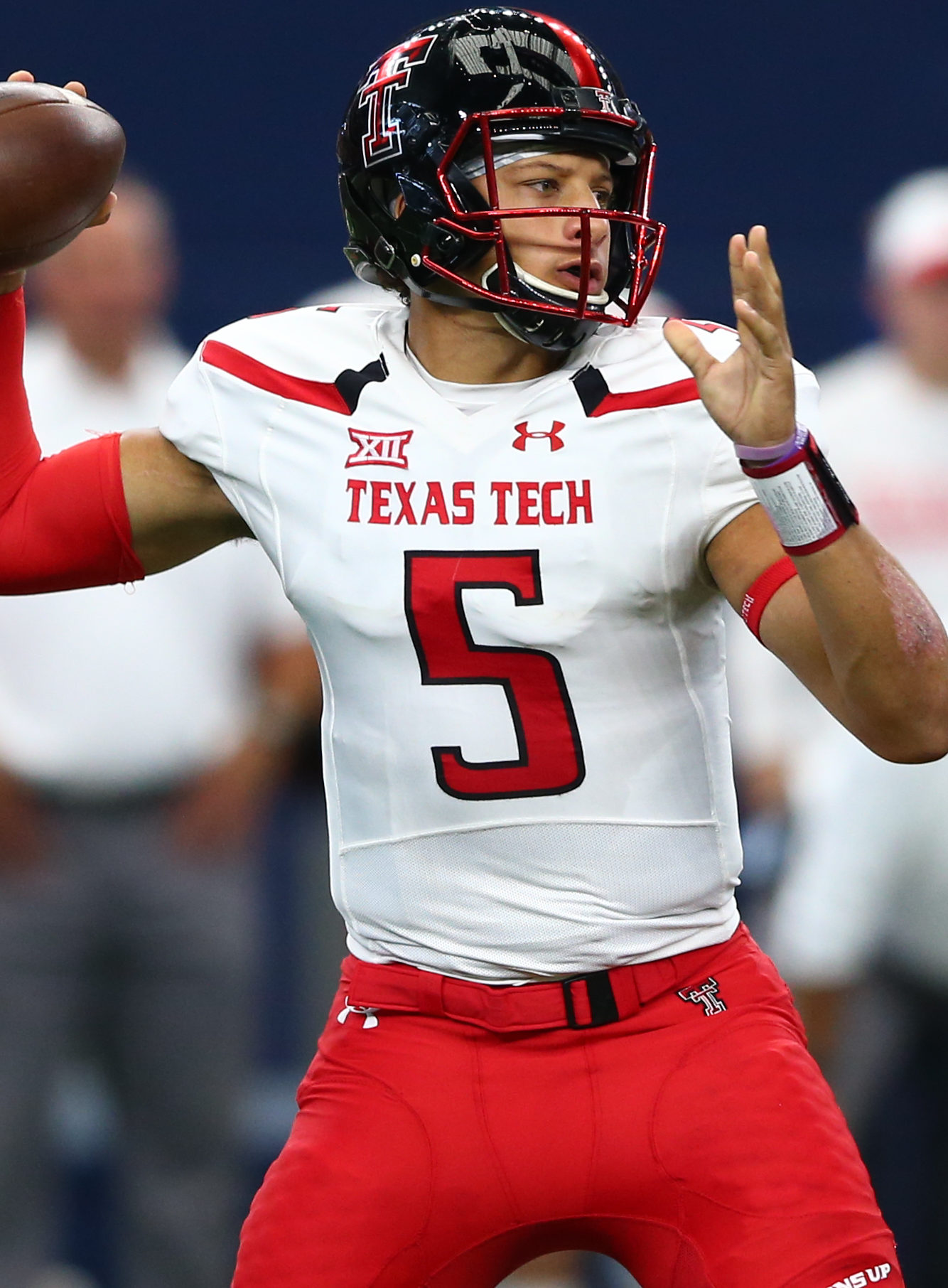 The 50 Most Important College Players In Texas In 2016 No 1 Texas Tech S Pat Mahomes