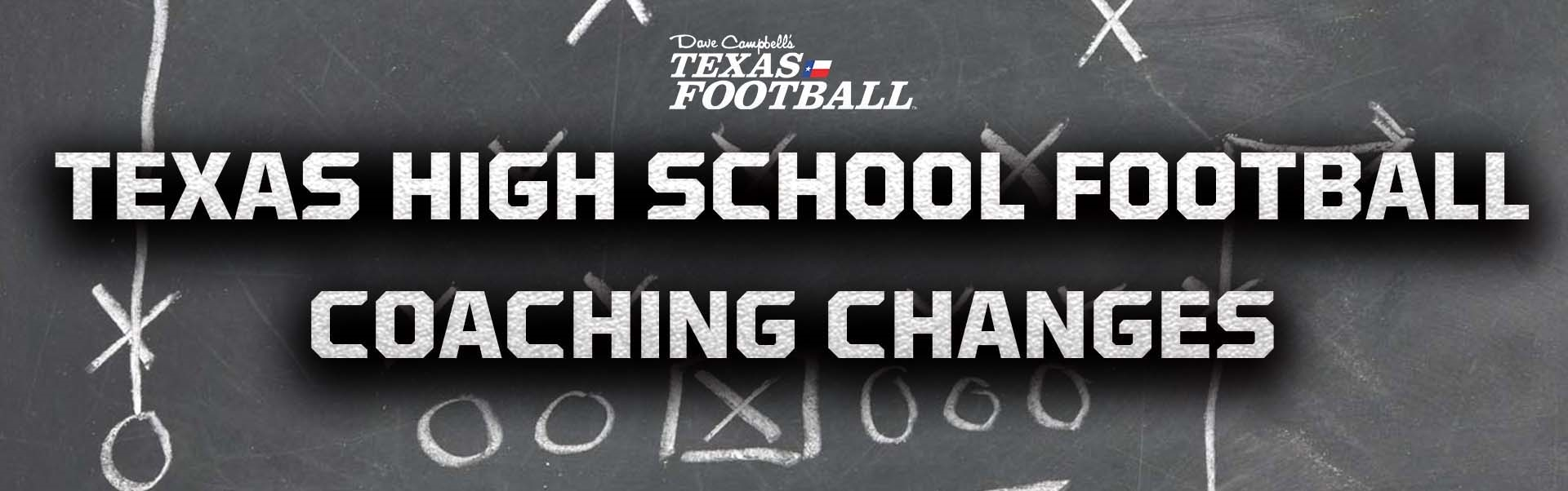 Texas High School Football Coaching Changes